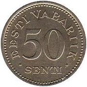 50 Senti – reverse