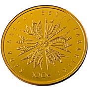100 Euro (Centenary of the Republic of Estonia) – reverse