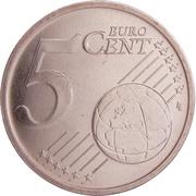 5 Euro Cent – reverse
