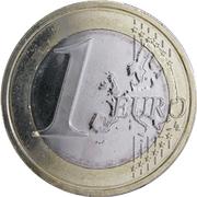 1 Euro (2nd map) -  reverse