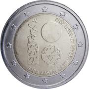2 Euro (Independence of Estonia) -  obverse