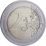 2 Euro (Independence of Estonia) -  reverse