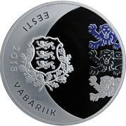 15 Euro (150th anniversary of the birth of Jaan Tõnisson) – obverse