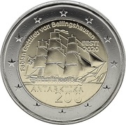 2 Euro (Discovery of Antarctica) -  obverse