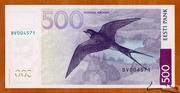 500 Krooni -  reverse