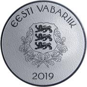 8 Euro (Hanseatic Viljandi) – obverse