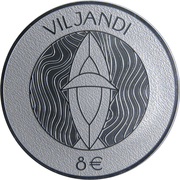 8 Euro (Hanseatic Viljandi) – reverse