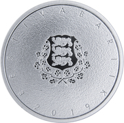 12 Euro (Johann Voldemar) – obverse