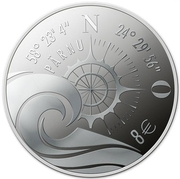 8 Euro (Hanseatic Parnu) – reverse
