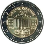 2 Euro (University of Tartu) -  obverse