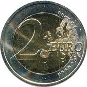 2 Euro (University of Tartu) -  reverse