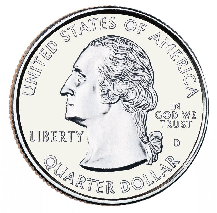 "¼ Dollar ""Washington Quarter"" (Kansas) - United States ... Quarter"