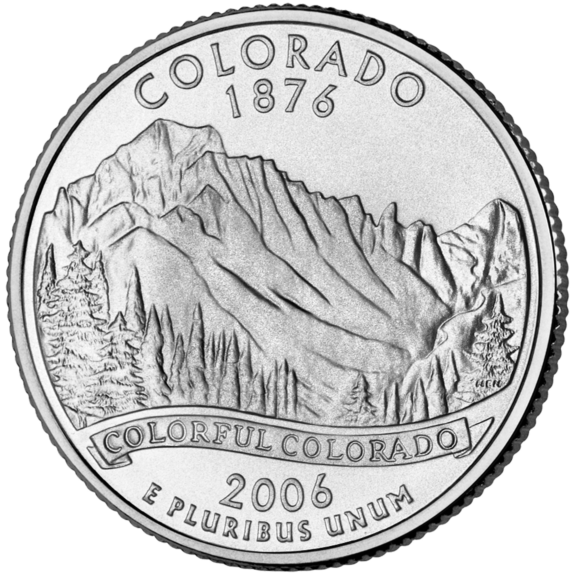 "¼ Dollar ""Washington Quarter"" (Colorado) - United States ... Quarter"