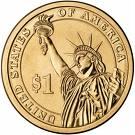 1 Dollar  (Ulysses S. Grant) -  obverse