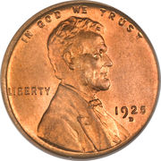 "1 Cent ""Lincoln - Wheat Ears Reverse"" -  obverse"