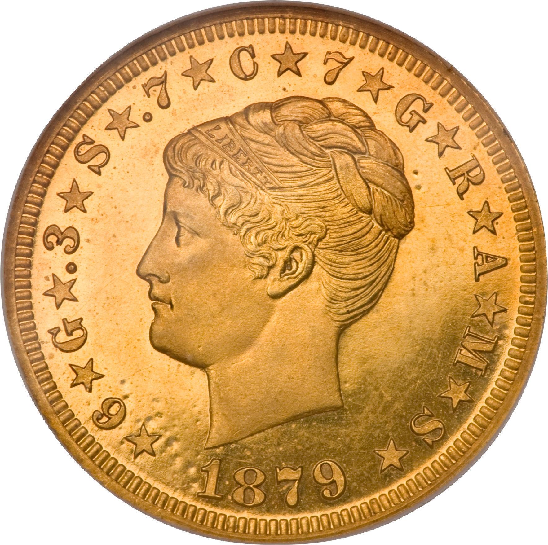 4 Dollars Quot Stella Quot Pattern United States Numista