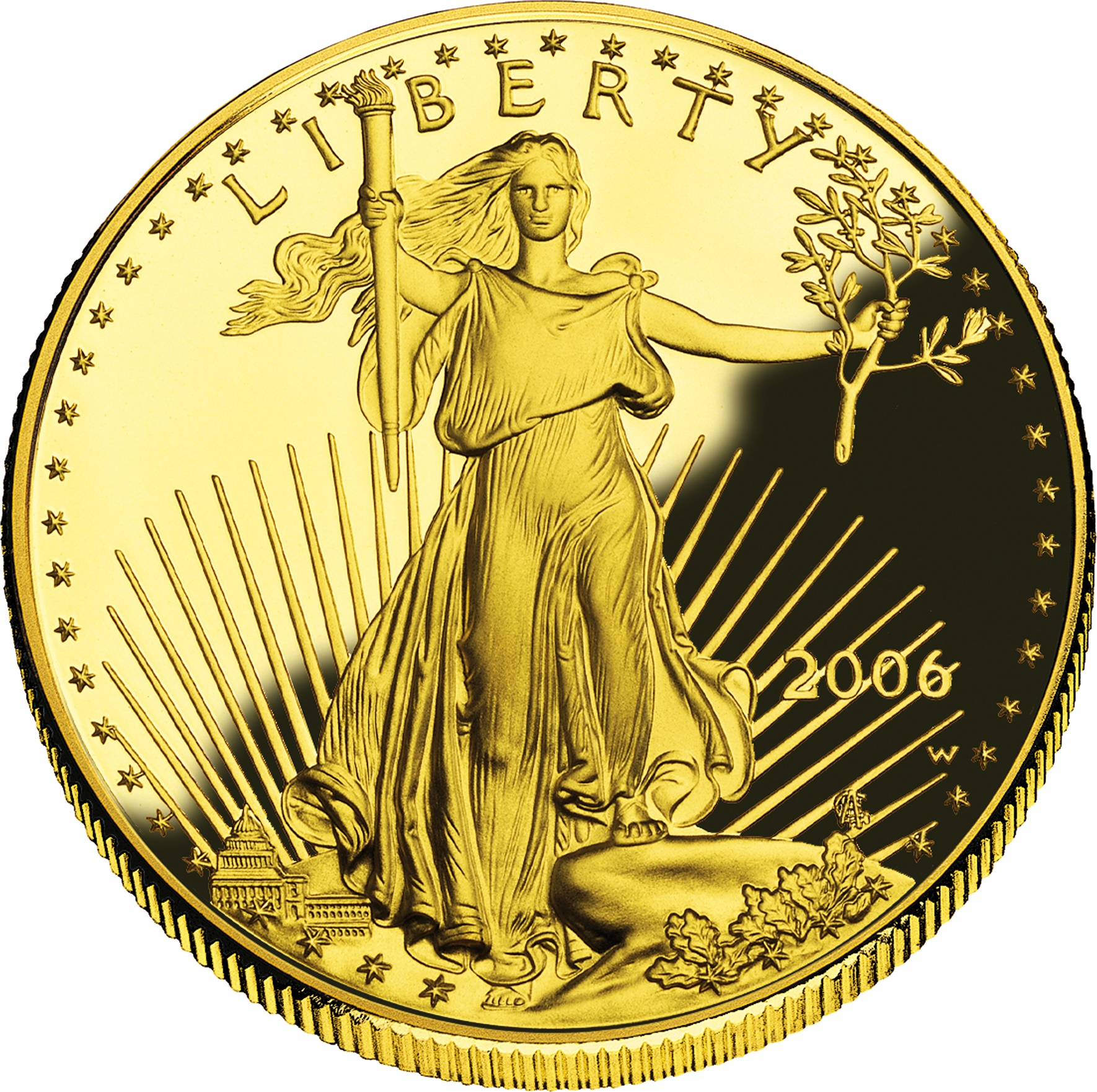50 Dollars American Gold Eagle Bullion Coinage