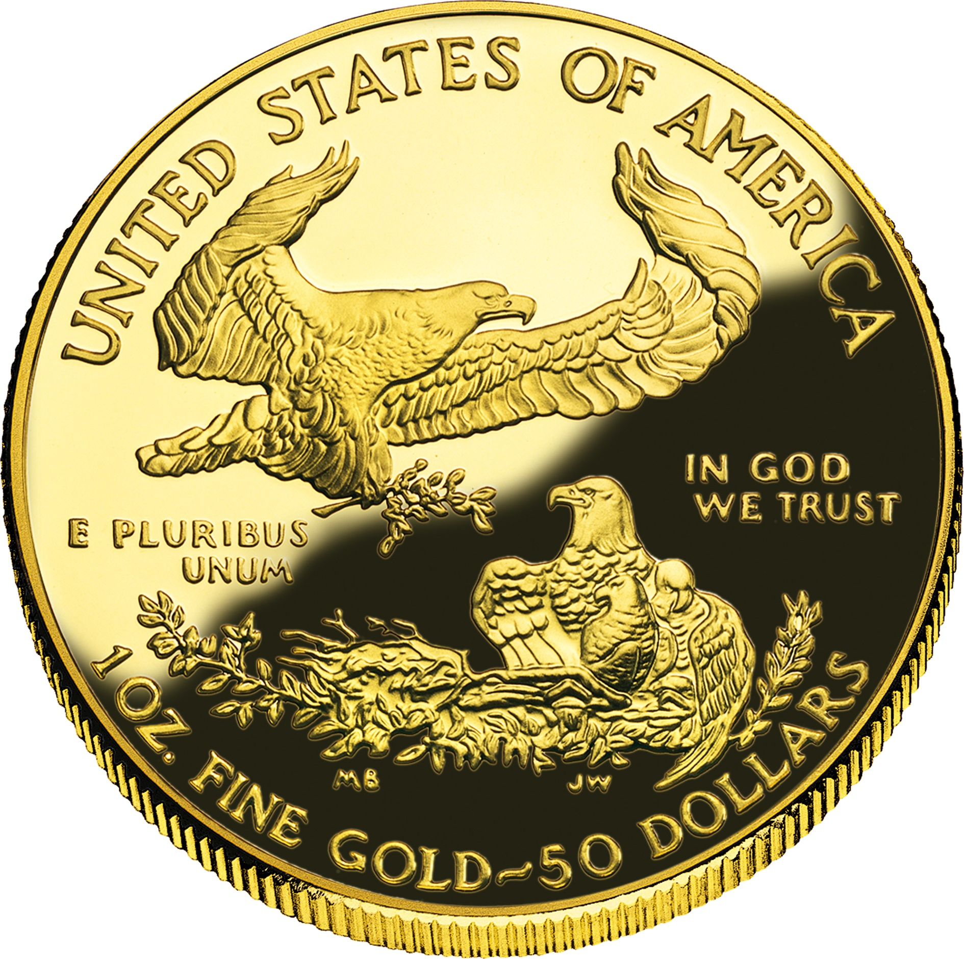 50 Dollars Quot American Gold Eagle Quot Bullion Coinage United States Numista