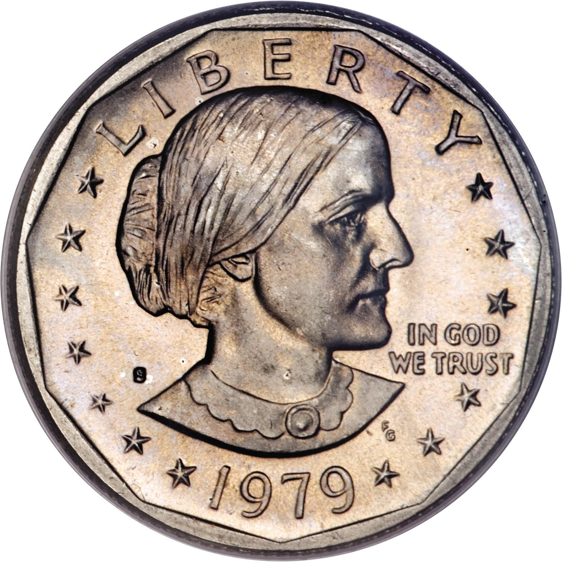 Anthony $1 Dollar Coins *THE 1980 DOLLAR SOUVENIR SET* Three Susan B PDS SET