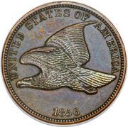 "1 Cent ""Flying Eagle Cent"" -  obverse"