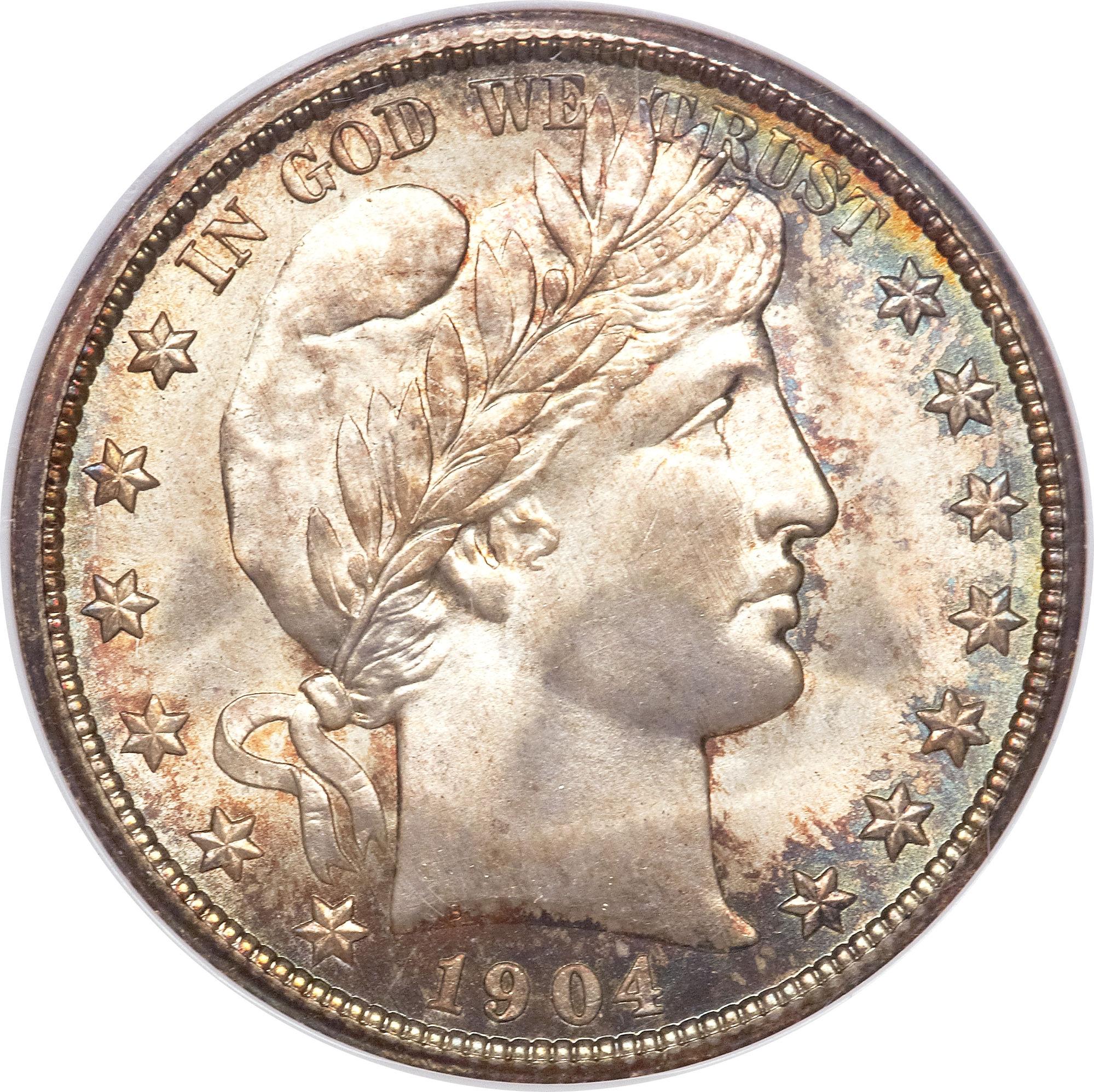 "½ Dollar ""Barber Half Dollar"" - United States – Numista"