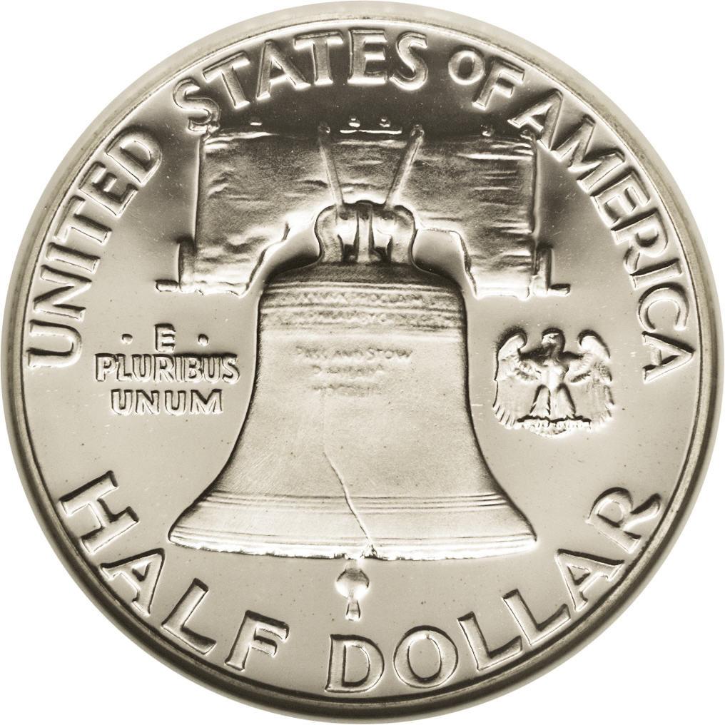 "½ Dollar ""Franklin Half Dollar"" - United States – Numista"