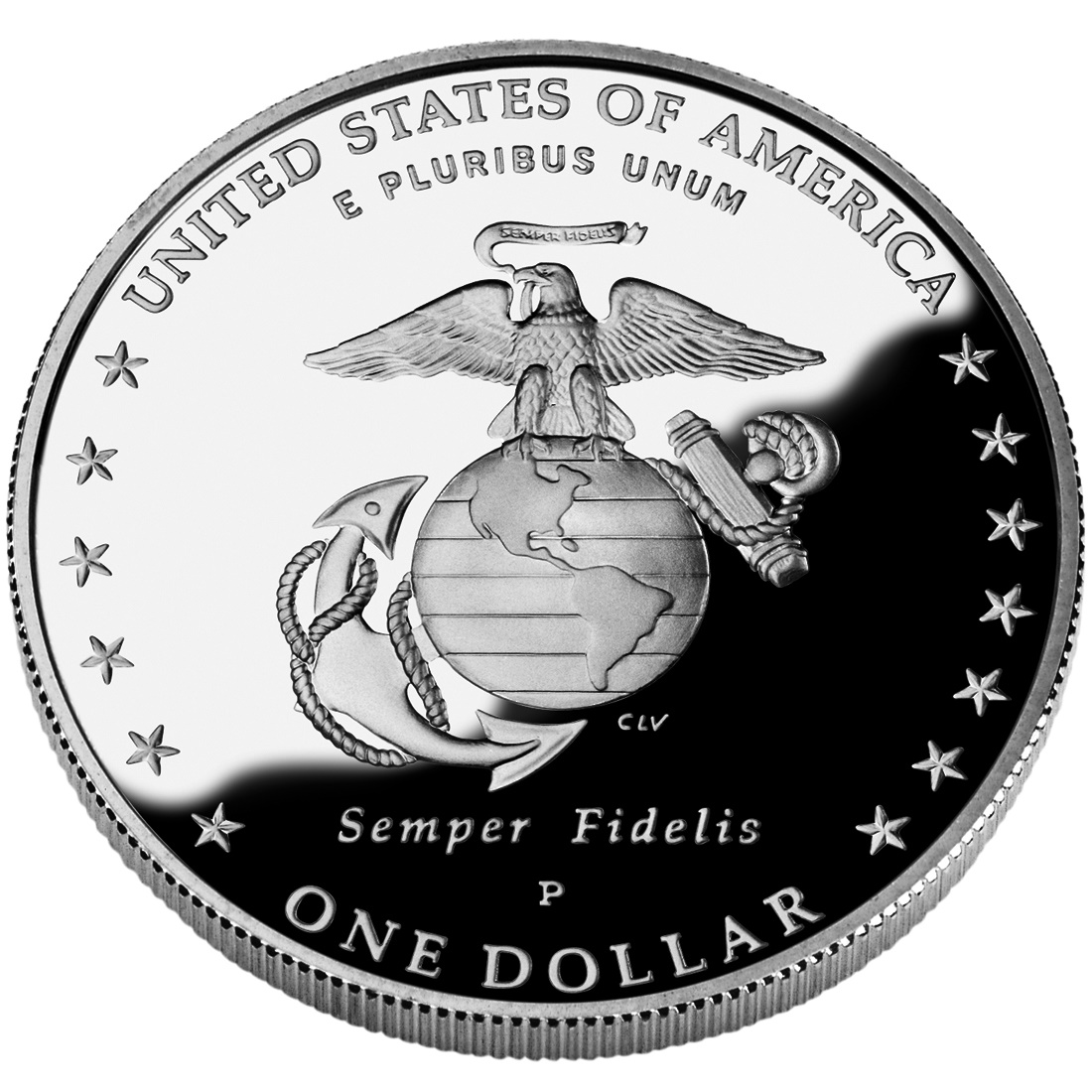 1 Dollar Marine Corps 230th Anniversary United States