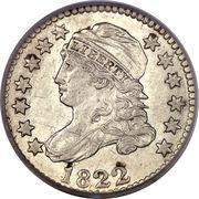 "10 Cents ""Liberty Cap Dime"" (1st variety) -  obverse"