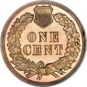"1 Cent ""Indian Head Cent"" – reverse"