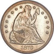 "1 Dollar ""Seated Liberty"" -  obverse"