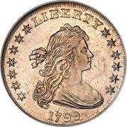 "1 Dollar ""Draped Bust Dollar"" (Heraldic eagle) -  obverse"