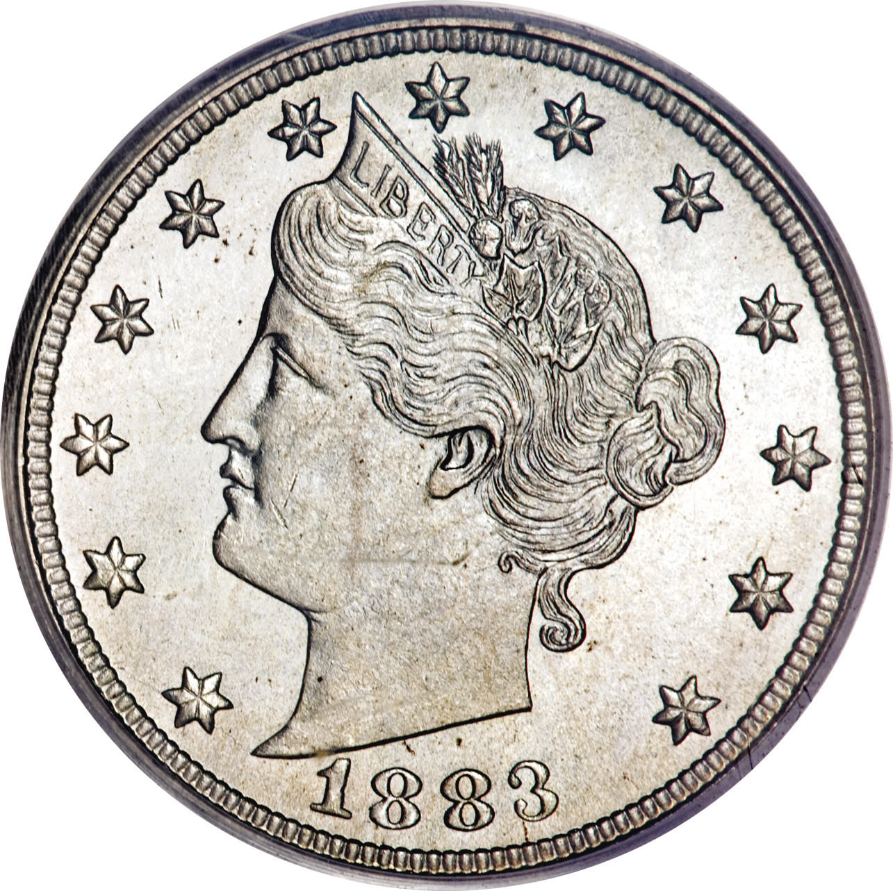 5 Cents Liberty Nickel Without Cents