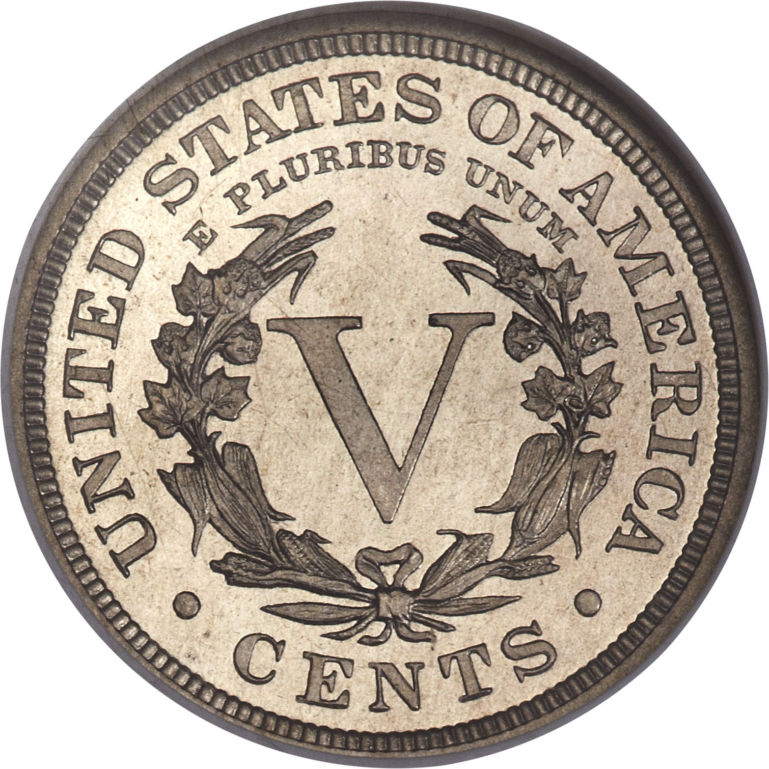 """5 Cents """"Liberty Nickel"""" (with """"CENTS"""") - United States ..."""
