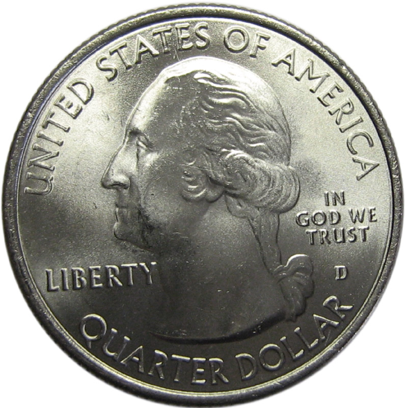 Liberty United States Of America Quarter Dollar