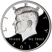 "½ Dollar ""Kennedy Half Dollar"" (Silver Proof Issue) -  obverse"