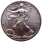"1 Dollar ""American Silver Eagle"" (Bullion Coin) -  obverse"