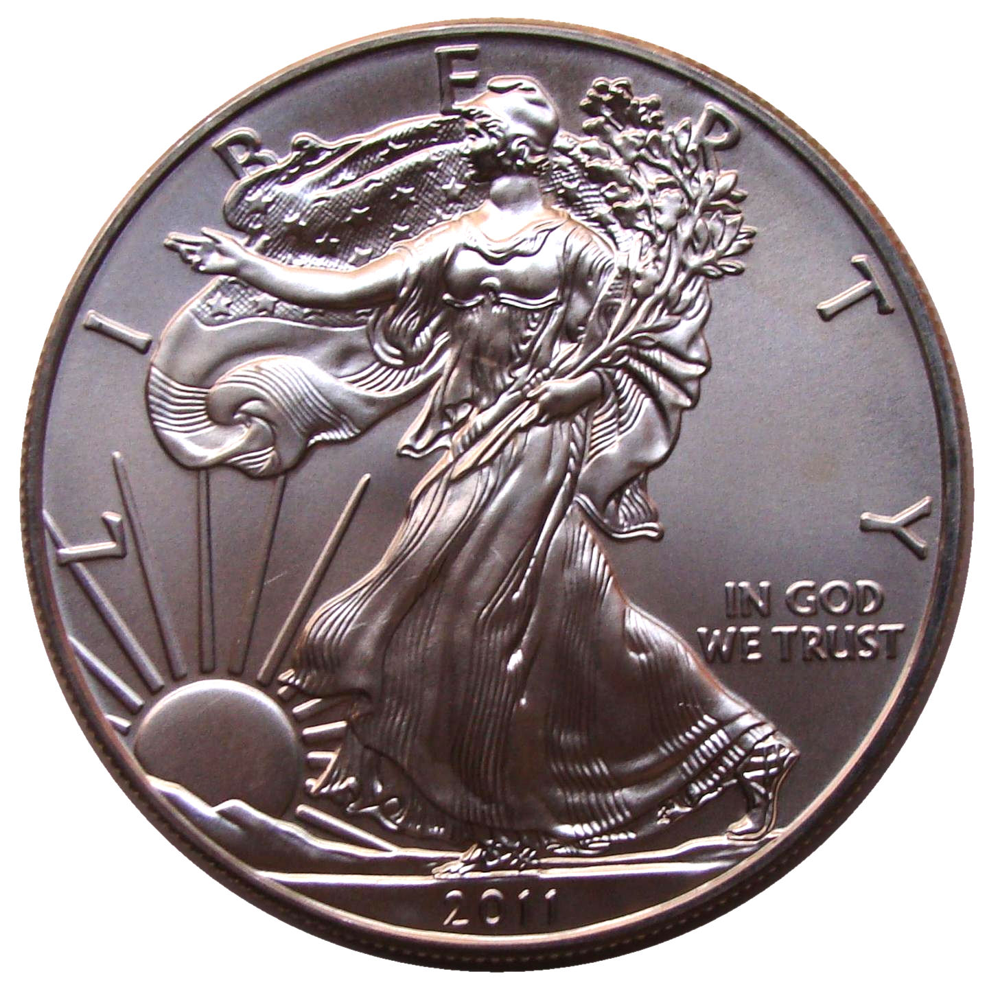 1 Dollar Quot American Silver Eagle Quot Bullion Coin United