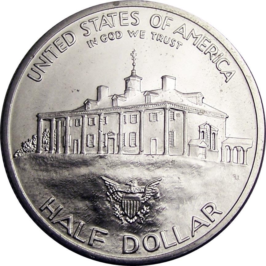½ Dollar (George Washington) - United States – Numista