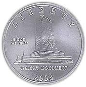 ½ Dollar (First Flight Centennial) -  obverse