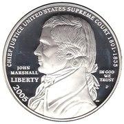 1 Dollar (Chief Justice John Marshall) -  obverse