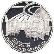 1 Dollar (Chief Justice John Marshall) -  reverse