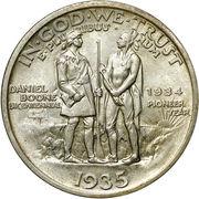 ½ Dollar (Boone Bicentennial) -  obverse