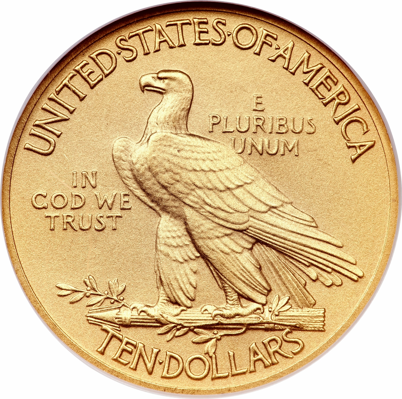 10 Dollars Quot Indian Head Eagle Quot With Motto United