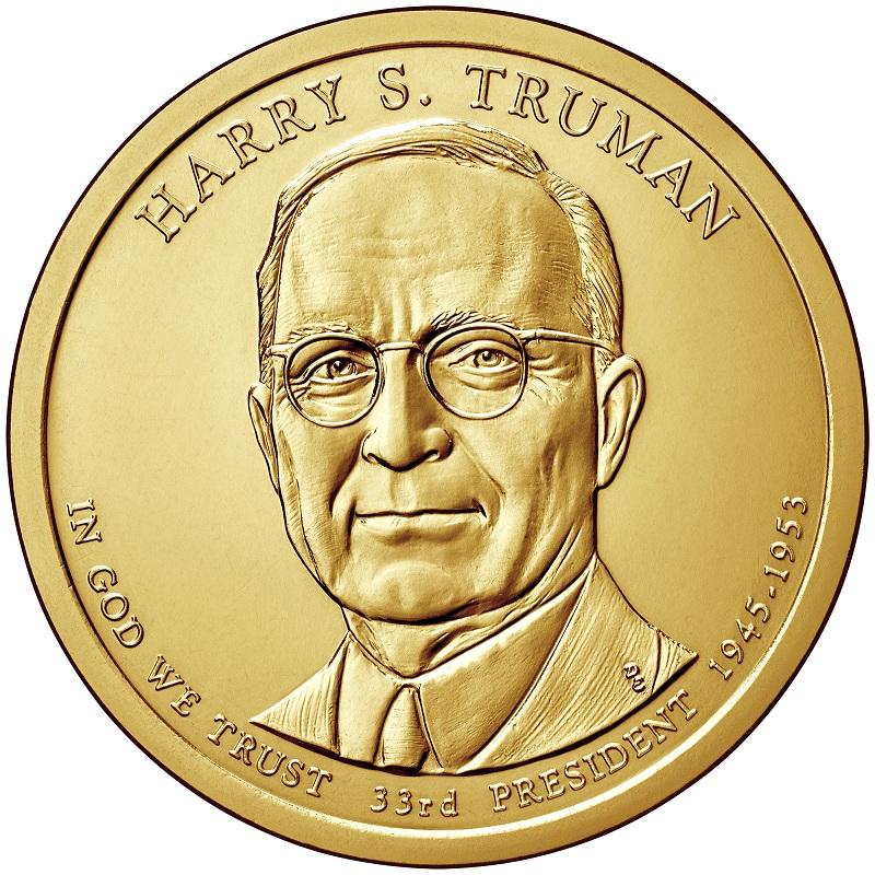 Harry s Truman 2015 P Presidential Dollar Coin Uncirculated Philadelphia