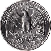 """¼ Dollar """"Washington Quarter"""" -  reverse"""