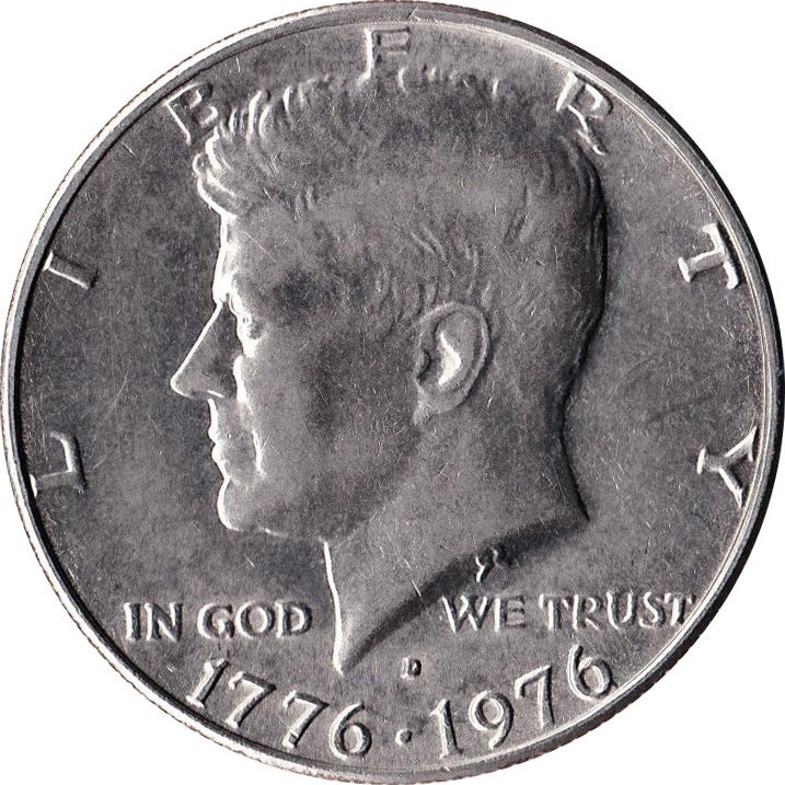 189 Dollar Quot Kennedy Half Dollar Quot Bicentennial United