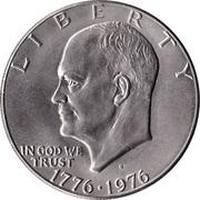 """1 Dollar """"Eisenhower Dollar"""" (Bicentennial) -  obverse"""