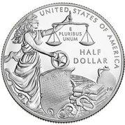½ Dollar (U.S. Marshals Service 225th Anniversary) -  reverse
