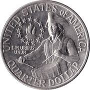 "¼ Dollar ""Washington Quarter"" (Bicentennial) -  reverse"