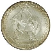 ½ Dollar (New Rochelle) -  obverse